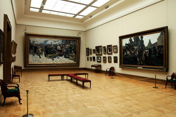 Umjetničke slike u Tretjakovskoj galeriji
