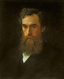 Ivan Kramski. Portret Pavla Tretjakova, 1876.