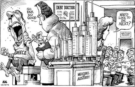 """Grčka prima """"infuzije"""" od EU, ECB i MMF a druge zemlje čekaju na ishod takve """"terapije"""""""