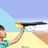 Od aviona od papira do bombardera