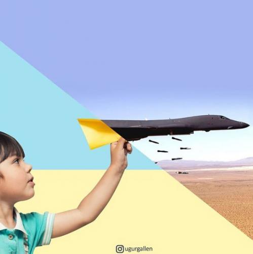 Dječak i avion