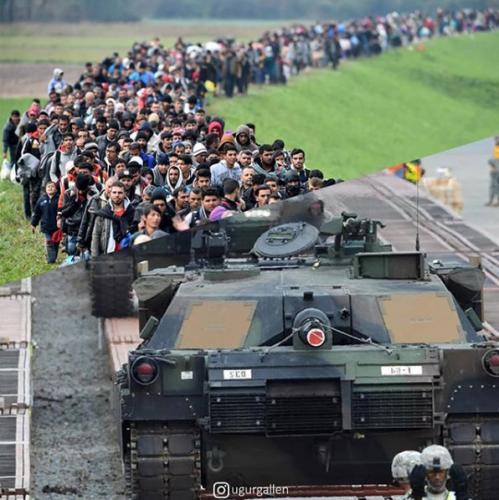 Migranti i vojska